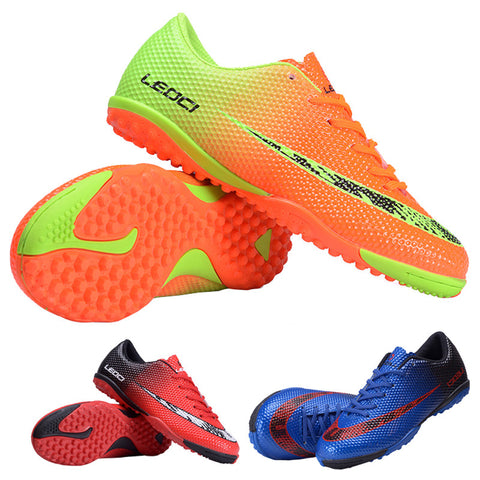 LEOCI Football Shoes Unisex Soccer Football indoor football shoe