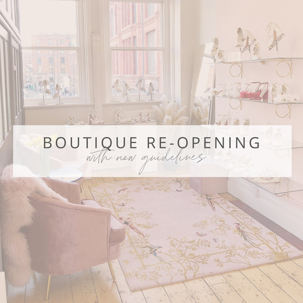 Reopening our Manchester Boutique