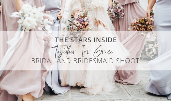 Together In Grace - Getting Ready Bridal Shoot by The Stars Inside