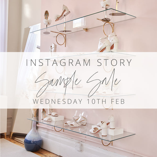 Virtual Sample Sale on Instagram Stories