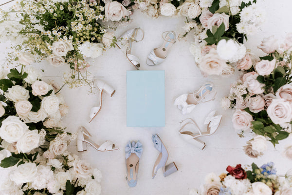 Wearing your wedding shoes on any surface