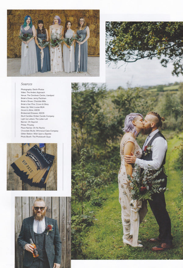 Rock n Roll Bride Jan/Feb 2018