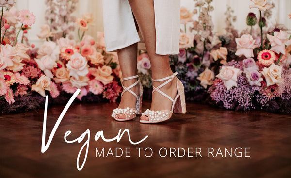 Vegan Made To Order Bridal Shoe Range