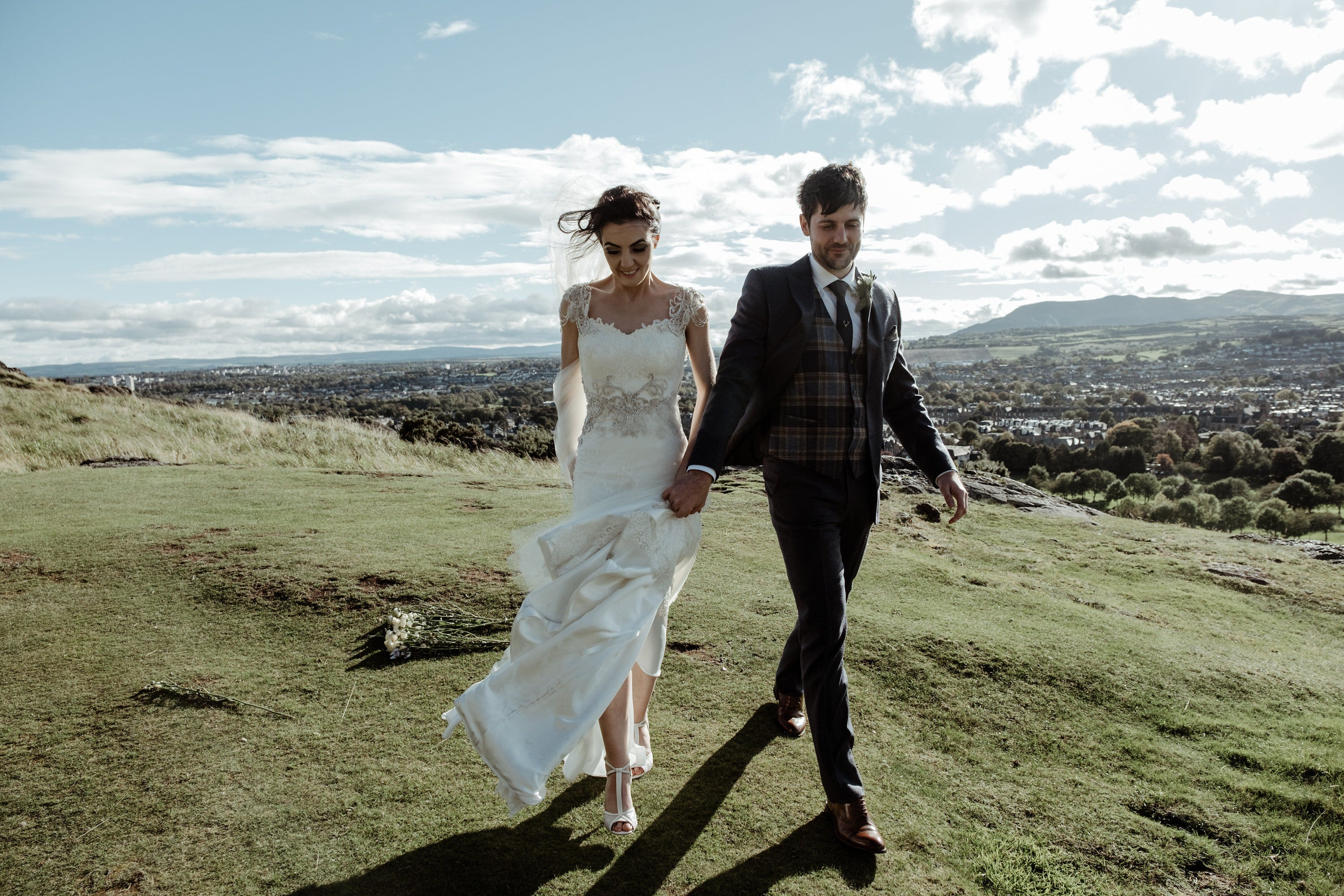 real bride-scotland wedding-charlottemills-bridalshoes-betty-
