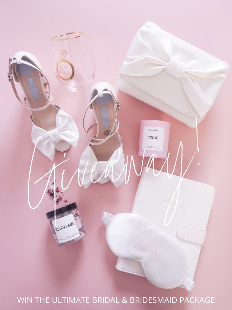 Charlotte mills x team hen bridal package giveaway