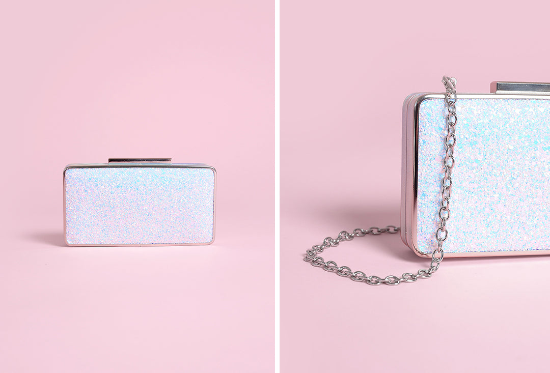 Jessa Unicorn hard clutch bridal bag by charlotte mills