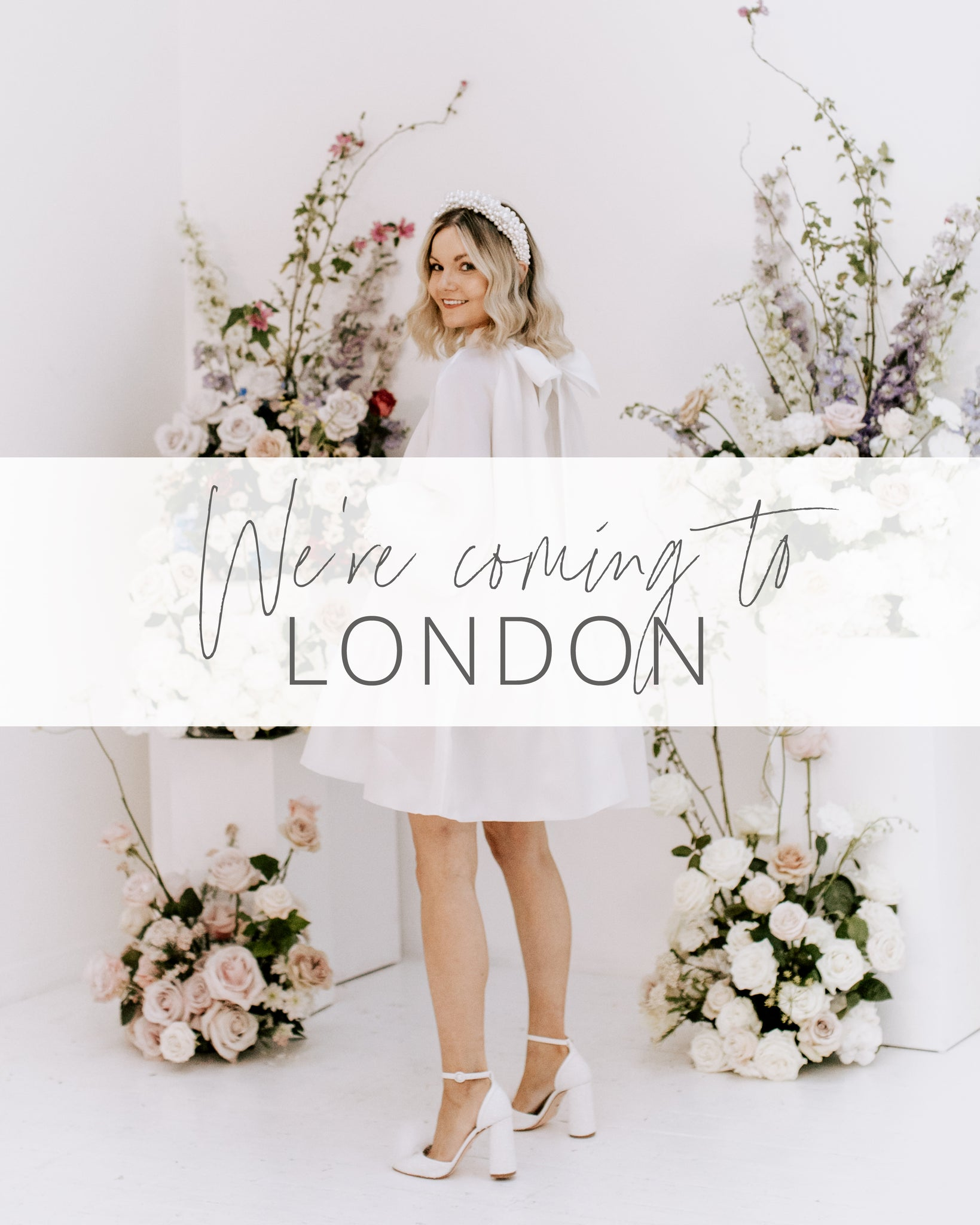 Charlotte Mills London Pop Up Event May - June 2021