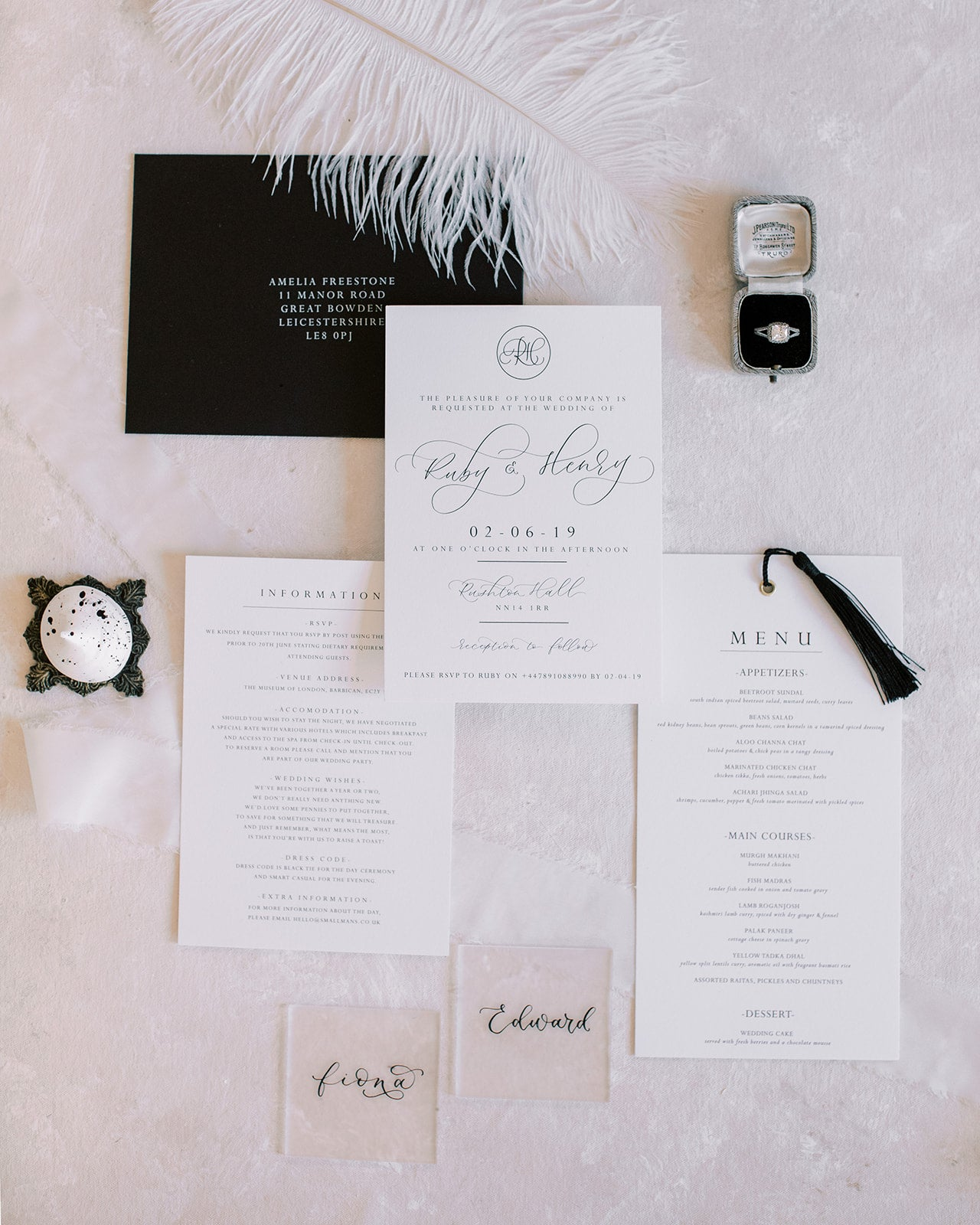 getting ready for your wedding flatlay - sophie may photography