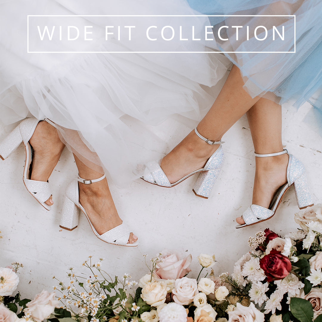 charlotte mills bridal shoe wide fit collection