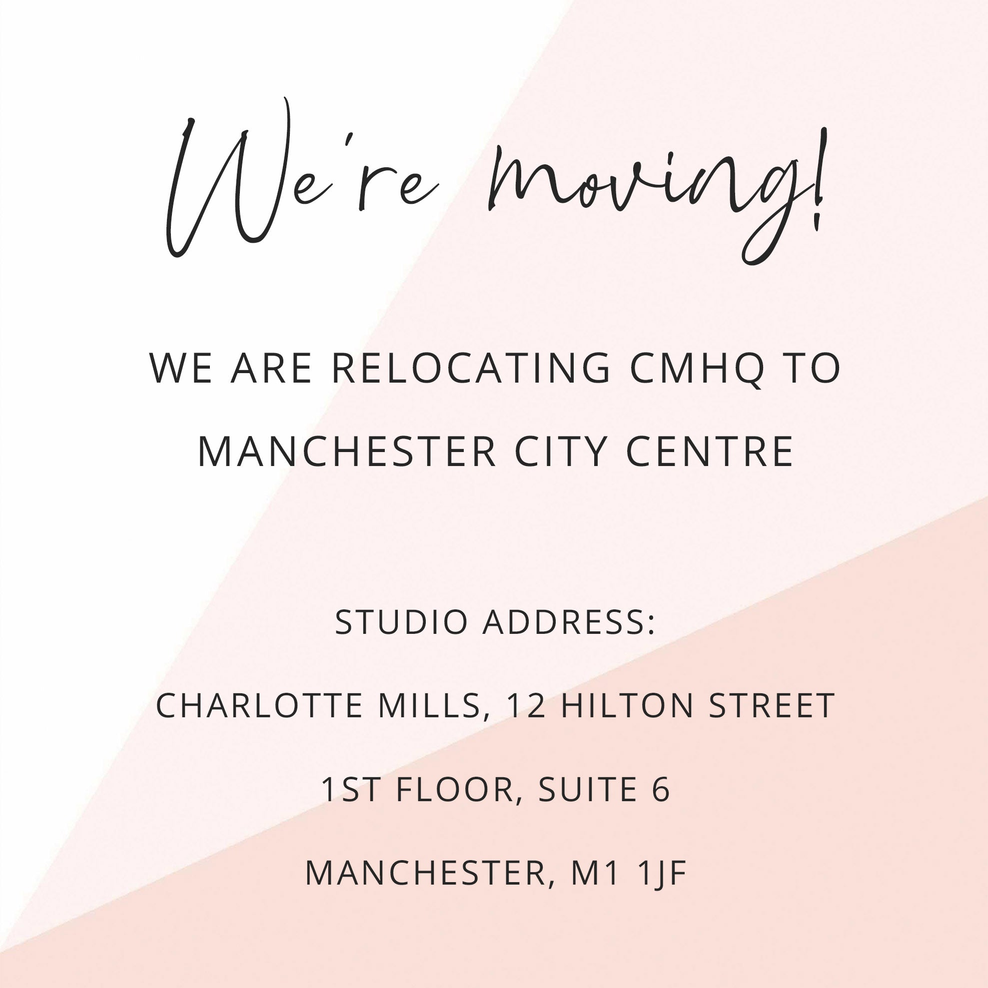 charlotte mills manchester showroom - new address