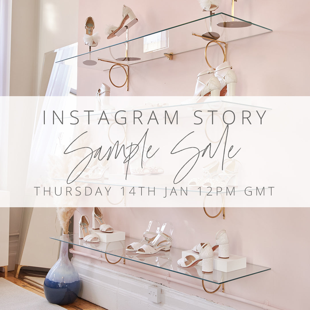 charlotte mills virtual sample sale on instagram