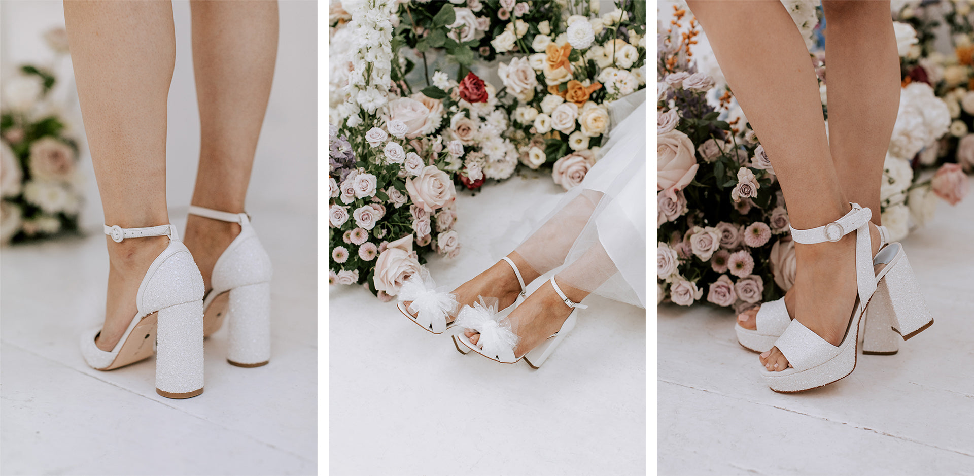 wide fit bridal shoe range