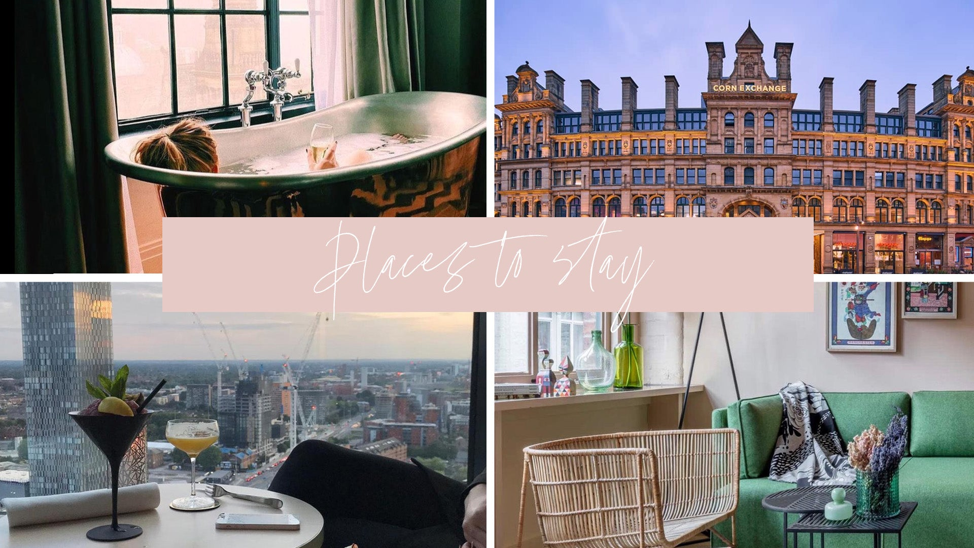 places to stay Manchester