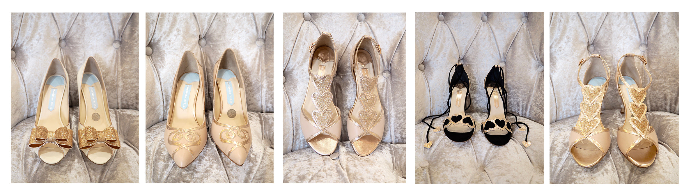 charlotte mills rose gold shoes