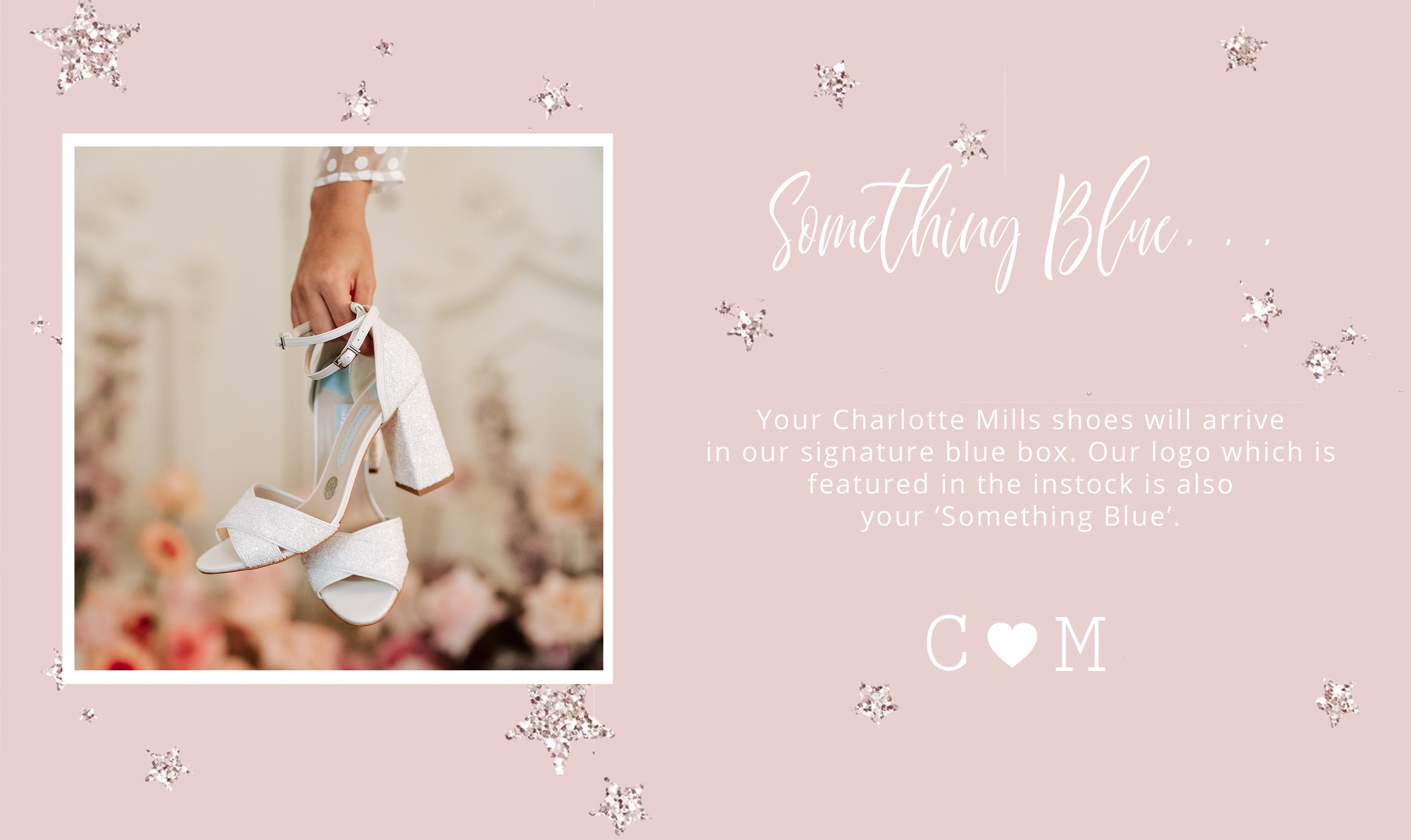 something blue - charlotte mills shoes