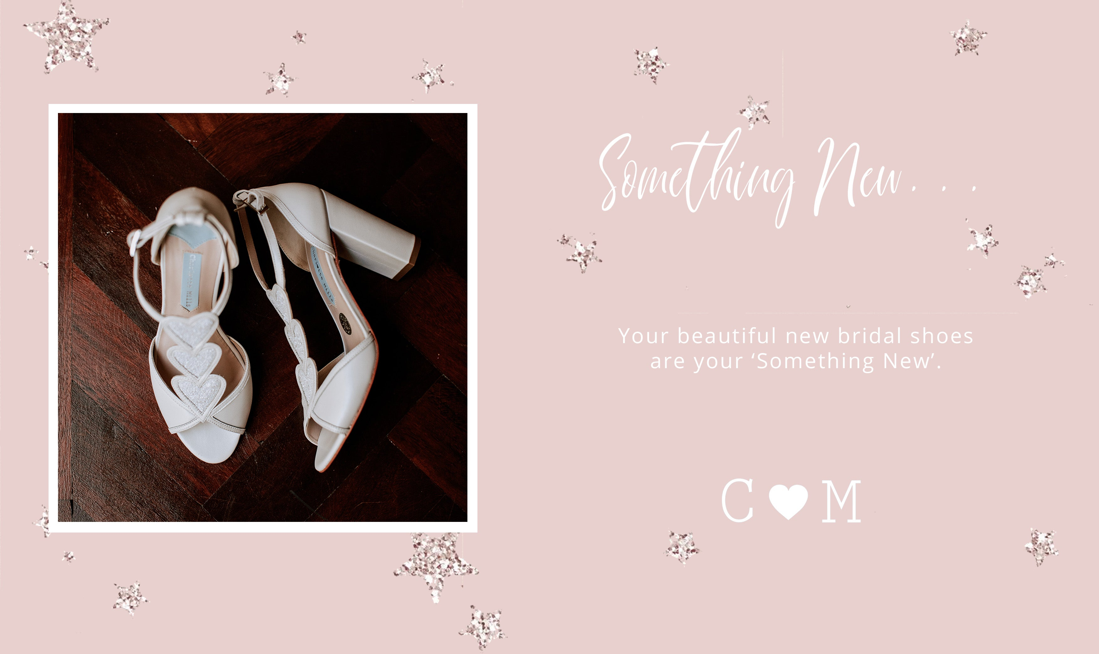 something new - bridal shoes - charlotte mills shoes