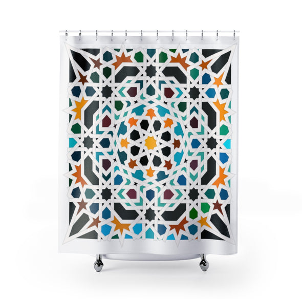 Sunrise Siesta Shower Curtains