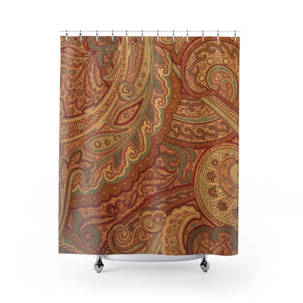Royal Paisley Shower Curtains
