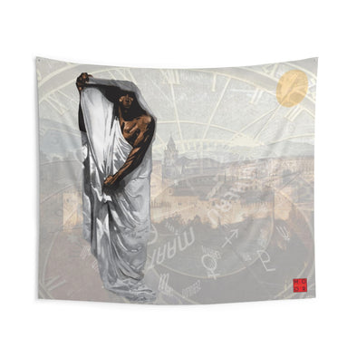 The Timekeeper Indoor Wall Tapestries