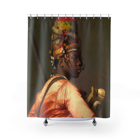 The Turkish Moor Shower Curtains