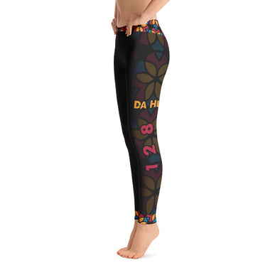 Da Hill 128 street All-Over Print Leggings