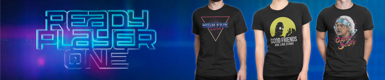 Browse Ready Player One inspired T-Shirts, Hoodies, Sweatshirts and more