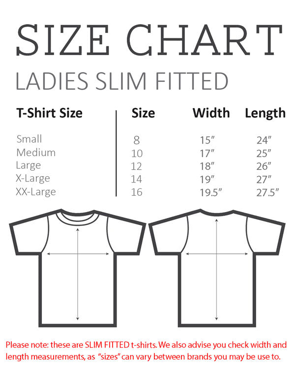 Size Charts And Garment Care Cloud City 7