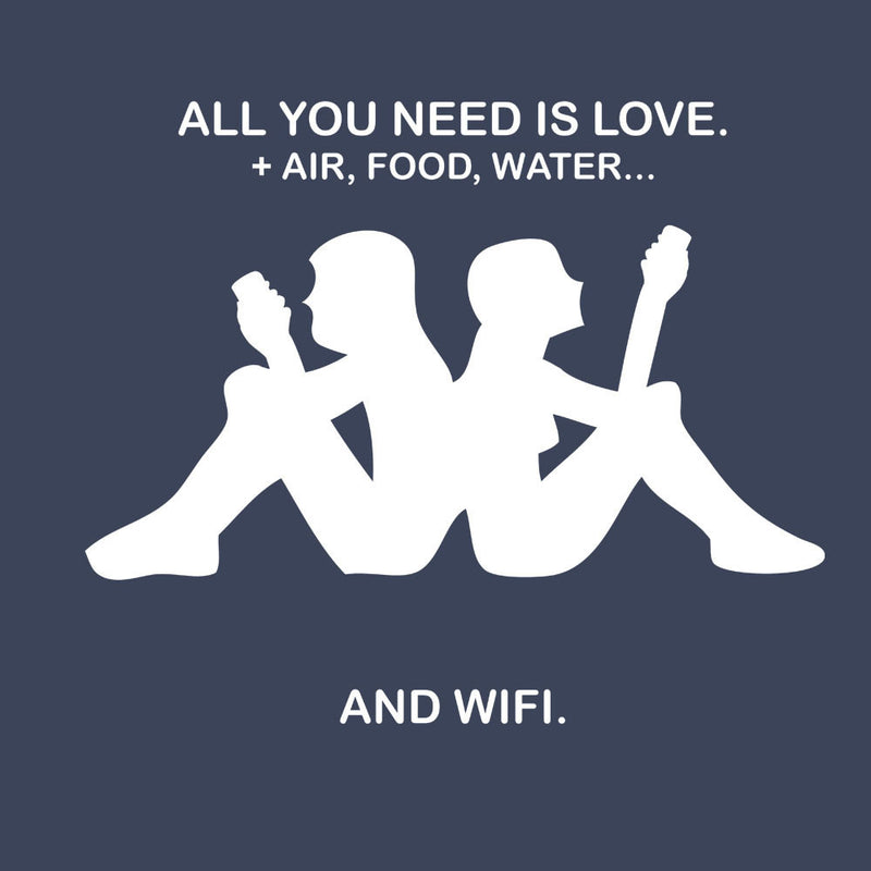 Love & Wifi Kappa Logo Quote by Toonpunk - Cloud City 7
