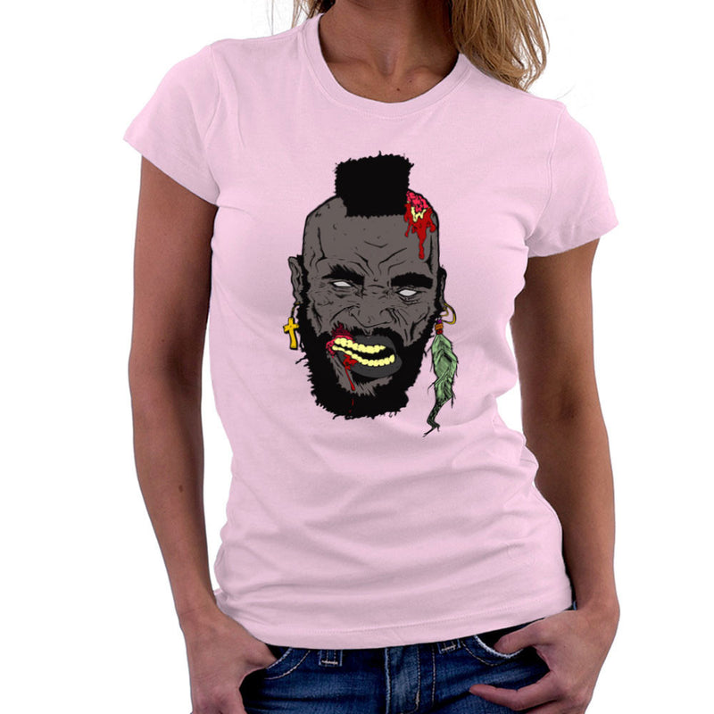 Zombie Mr. T Women's T-Shirt Women's T-Shirt Cloud City 7 - 21