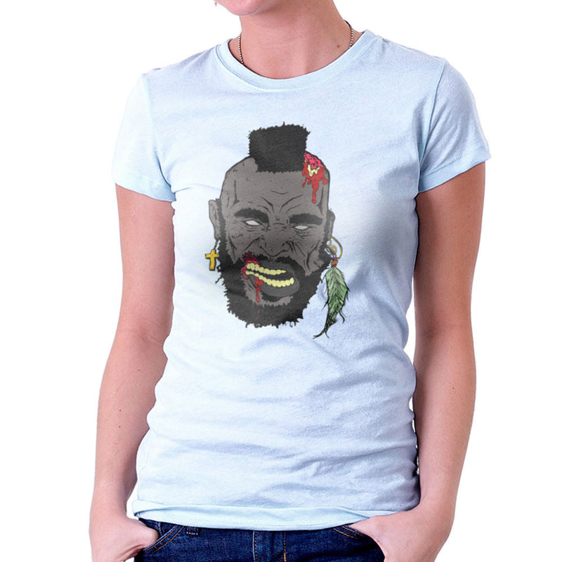 Zombie Mr. T Women's T-Shirt Women's T-Shirt Cloud City 7 - 11