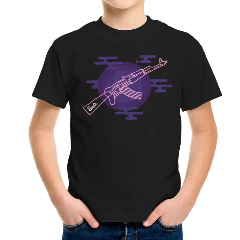 Barbie Gun AK-47 Kid's T-Shirt Kid's Boy's T-Shirt Cloud City 7 - 2