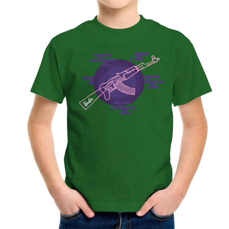 Barbie Gun AK-47 Kid's T-Shirt Kid's Boy's T-Shirt Cloud City 7 - 13