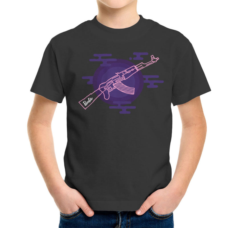 Barbie Gun AK-47 Kid's T-Shirt Kid's Boy's T-Shirt Cloud City 7 - 4