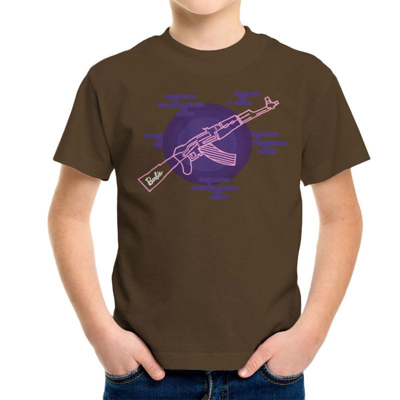 Barbie Gun AK-47 Kid's T-Shirt Kid's Boy's T-Shirt Cloud City 7 - 12