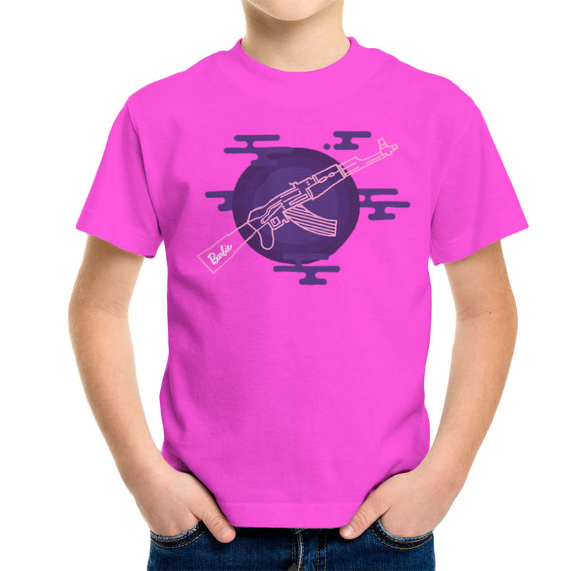 Barbie Gun AK-47 Kid's T-Shirt Kid's Boy's T-Shirt Cloud City 7 - 19