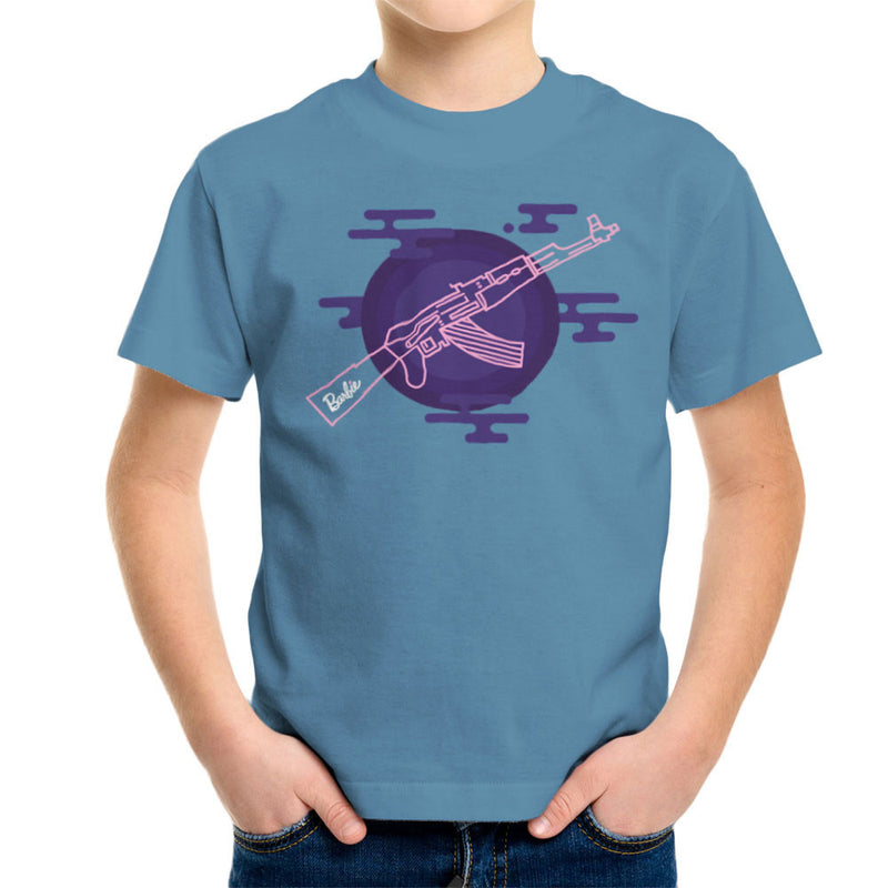 Barbie Gun AK-47 Kid's T-Shirt Kid's Boy's T-Shirt Cloud City 7 - 9