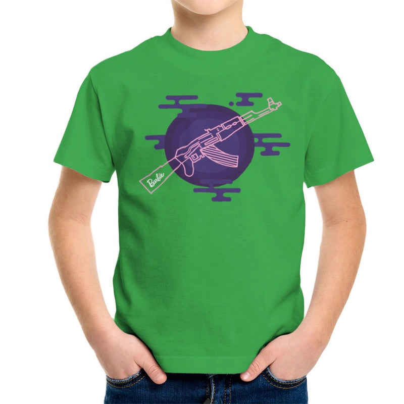 Barbie Gun AK-47 Kid's T-Shirt Kid's Boy's T-Shirt Cloud City 7 - 14