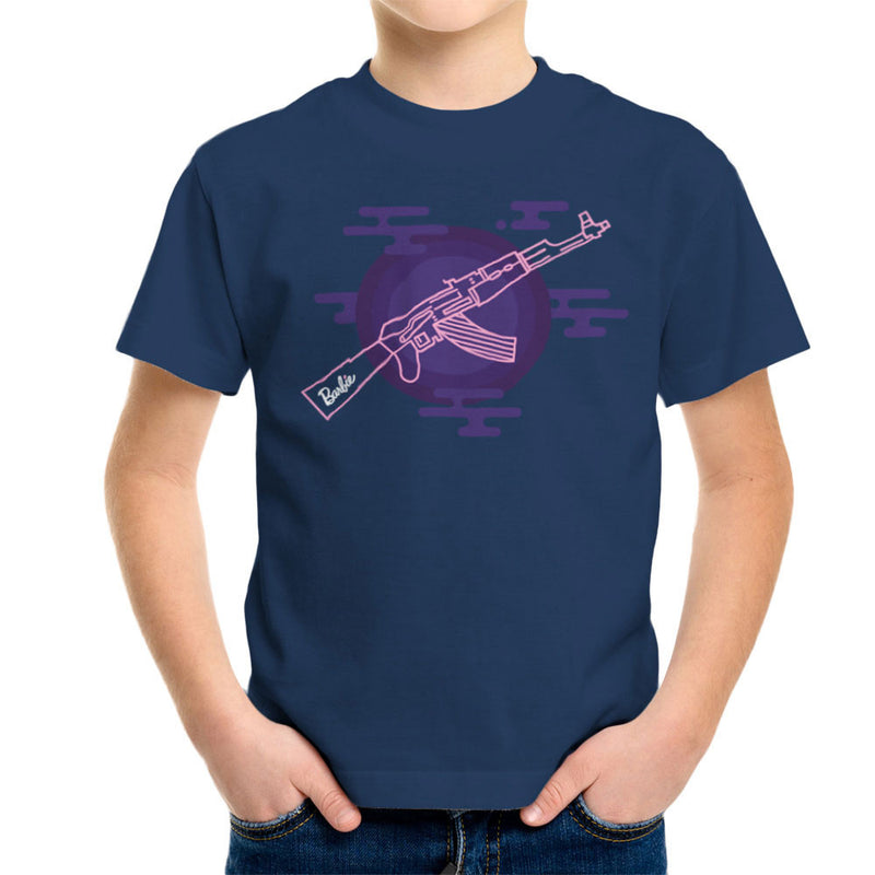 Barbie Gun AK-47 Kid's T-Shirt Kid's Boy's T-Shirt Cloud City 7 - 7