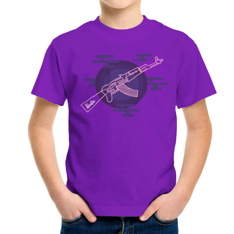 Barbie Gun AK-47 Kid's T-Shirt Kid's Boy's T-Shirt Cloud City 7 - 18
