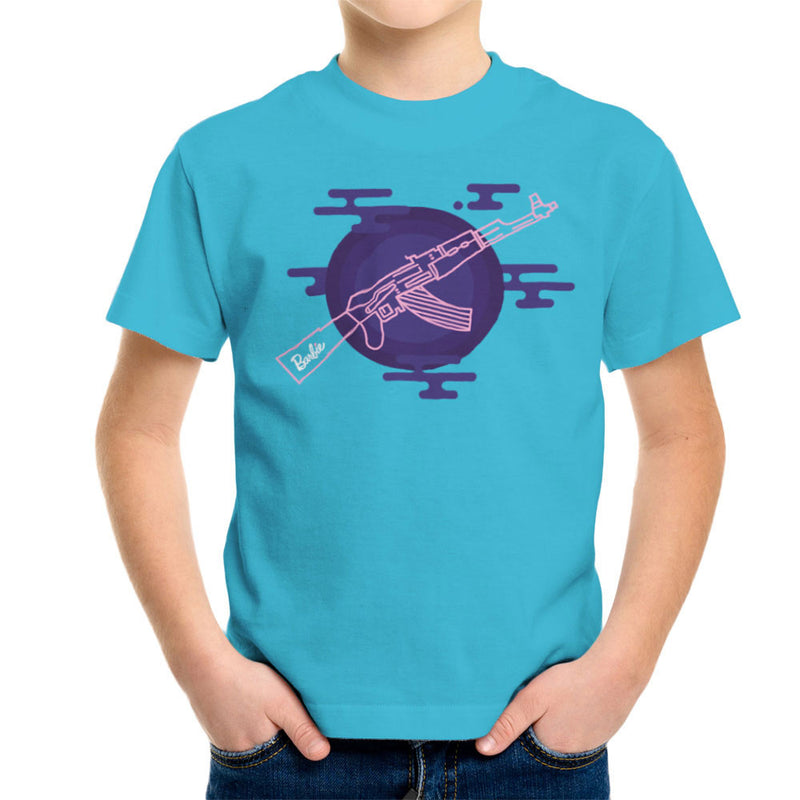 Barbie Gun AK-47 Kid's T-Shirt Kid's Boy's T-Shirt Cloud City 7 - 10