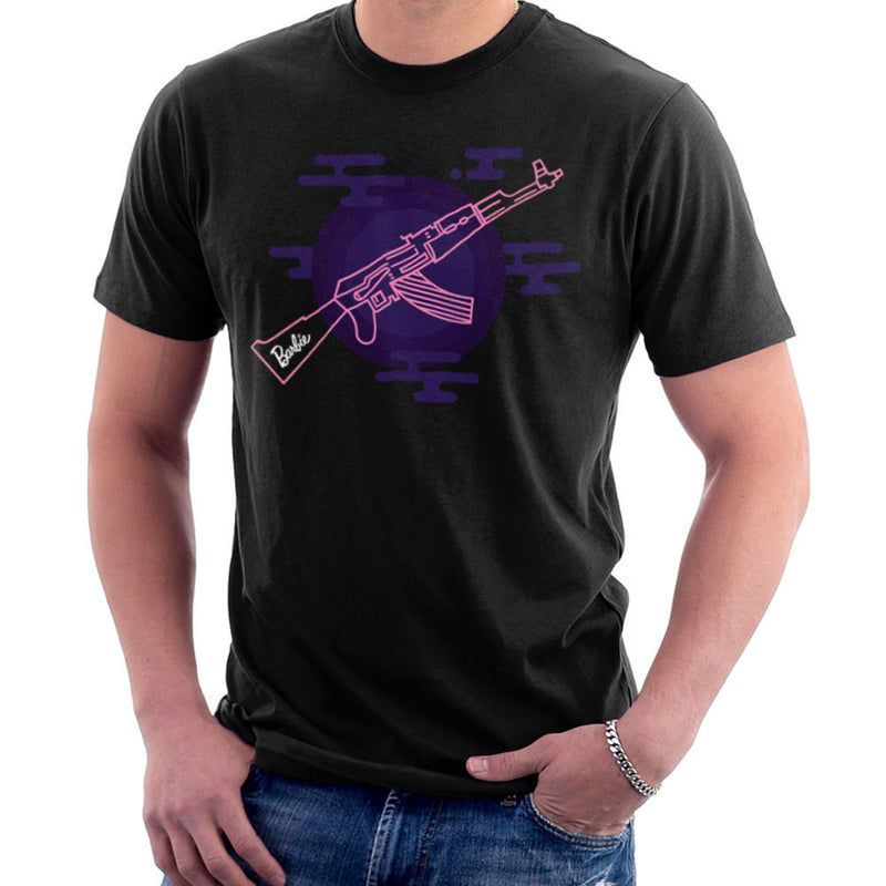 Barbie Gun AK-47 Men's T-Shirt Men's T-Shirt Cloud City 7 - 2