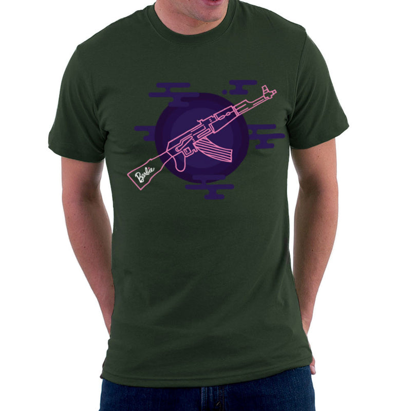 Barbie Gun AK-47 Men's T-Shirt Men's T-Shirt Cloud City 7 - 13