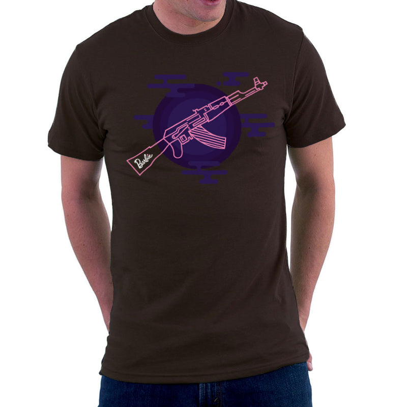 Barbie Gun AK-47 Men's T-Shirt Men's T-Shirt Cloud City 7 - 12