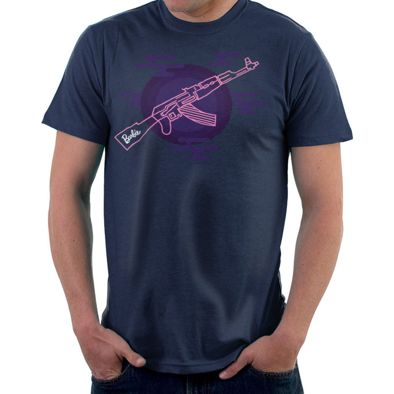 Barbie Gun AK-47 Men's T-Shirt Men's T-Shirt Cloud City 7 - 7