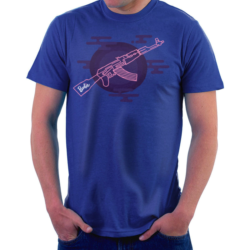 Barbie Gun AK-47 Men's T-Shirt Men's T-Shirt Cloud City 7 - 8