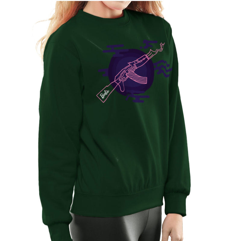 Barbie Gun AK-47 Women's Sweatshirt Women's Sweatshirt Cloud City 7 - 13