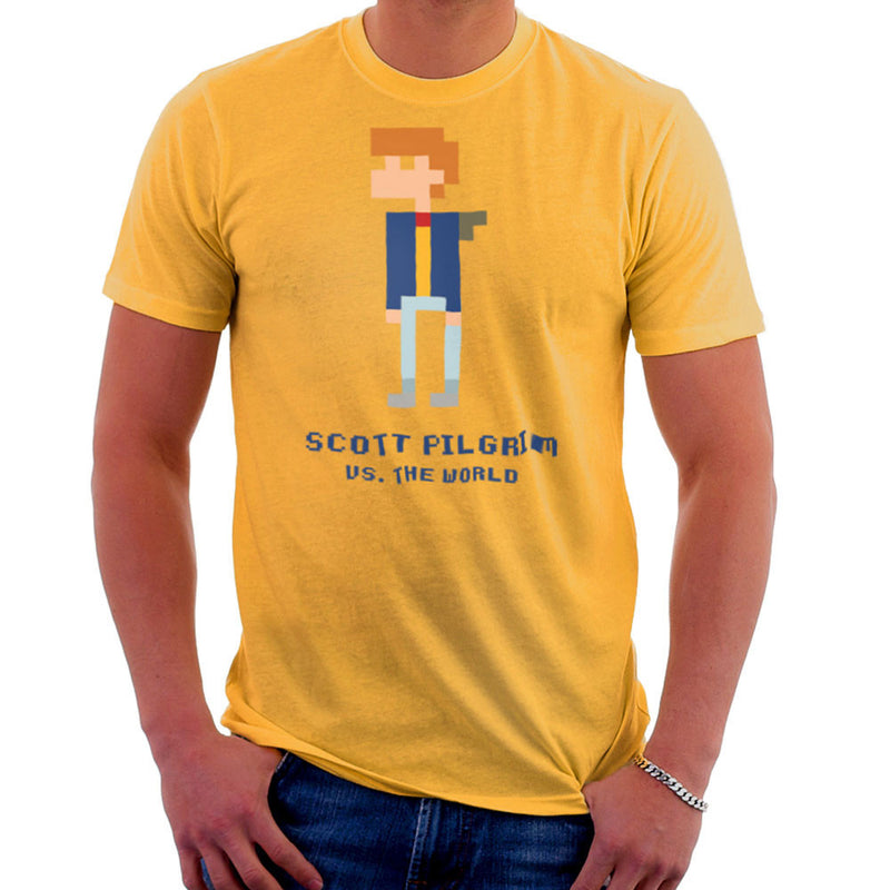 Scott Pilgrim Vs The World Pixel Men's T-Shirt Men's T-Shirt Cloud City 7 - 18