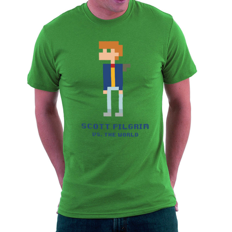 Scott Pilgrim Vs The World Pixel Men's T-Shirt Men's T-Shirt Cloud City 7 - 14