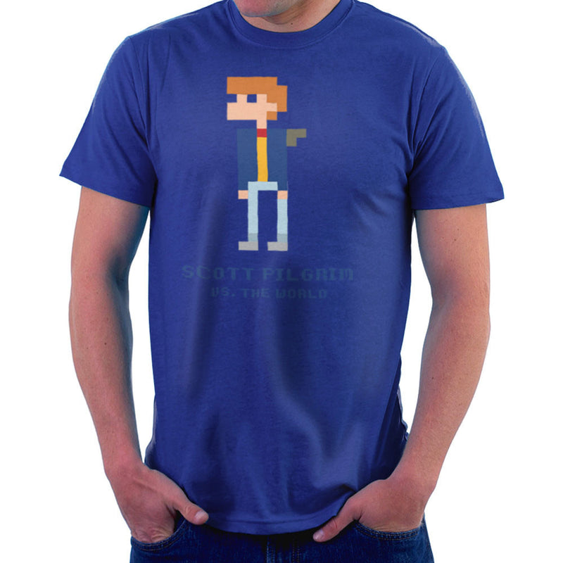 Scott Pilgrim Vs The World Pixel Men's T-Shirt Men's T-Shirt Cloud City 7 - 8