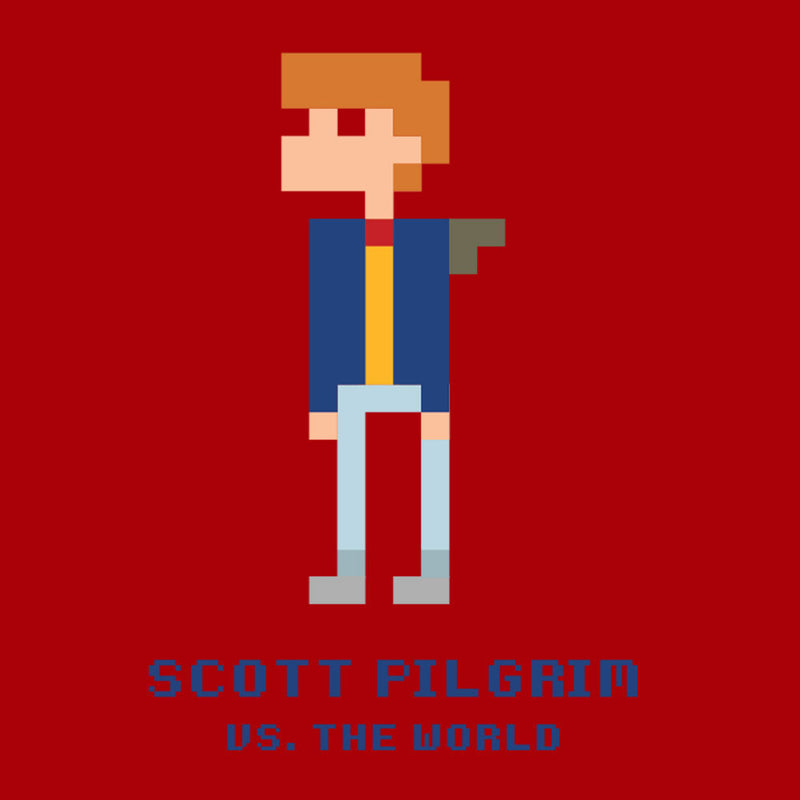 Scott Pilgrim Vs The World Pixel by Belinattink - Cloud City 7